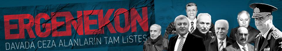 İşte Ergenekon'da açıklanan cezalar...