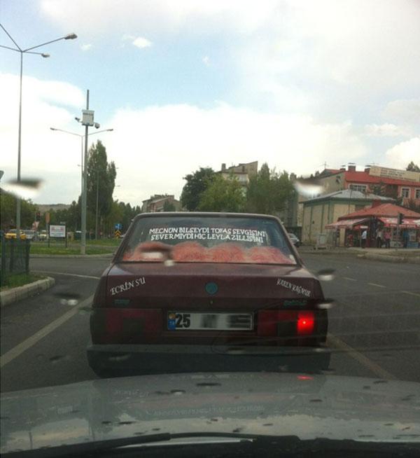 Erzurumlu Vatandaşın Araba Aşkı Bir Başka Neler Oluyor Hayatta