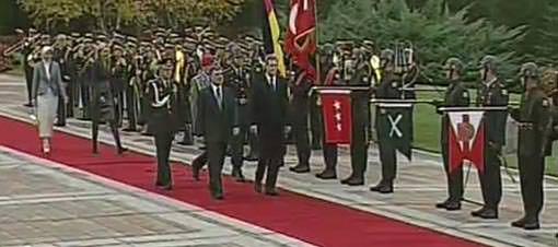 Hayrünnisa Gül ilk kez resmi törende