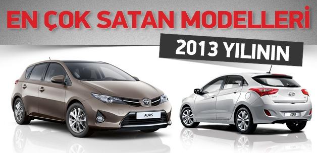 2013 yılının en çok satan otomobilleri