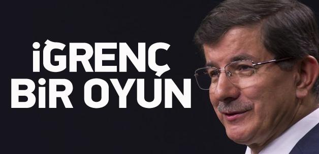 Ahmet Davutoğlu: Kına yakacaklar