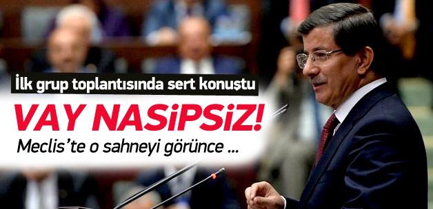 Başbakan Davutoğlu: Vay nasipsiz