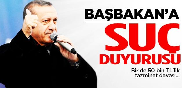 Başbakan Erdoğan hakkında suç duyurusu