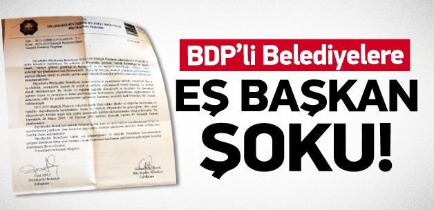 BDP'li belediyelere 'eş başkan' şoku!