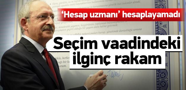 CHP'nin vaadi 4 yılda değişmemiş!