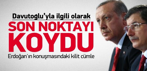 Erdoğan: Davutoğlu emanetçi değildir