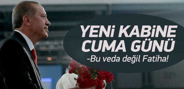 Erdoğan kongre öncesi partililere seslendi