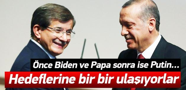 Erdoğan ve Davutoğlu hedefine ulaşıyor