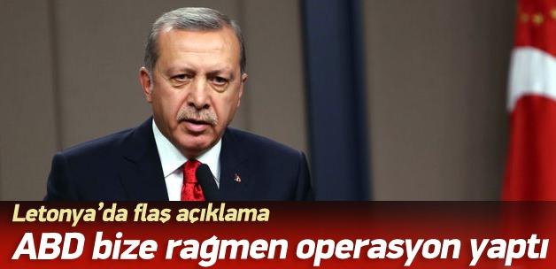 Erdoğan'dan Letonya'da önemli açıklamalar
