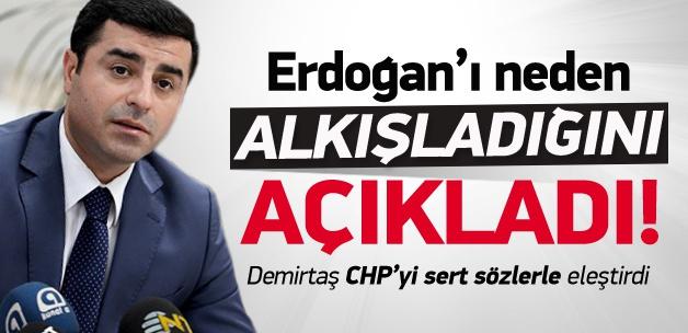 Erdoğan'ı neden alkışladığını açıkladı