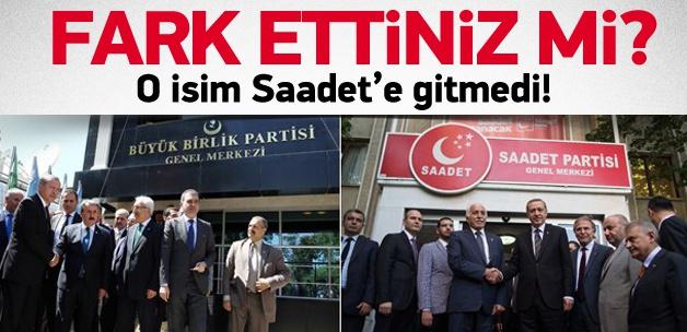 Erdoğan'ı ziyaretinde dikkat çeken ayrıntı