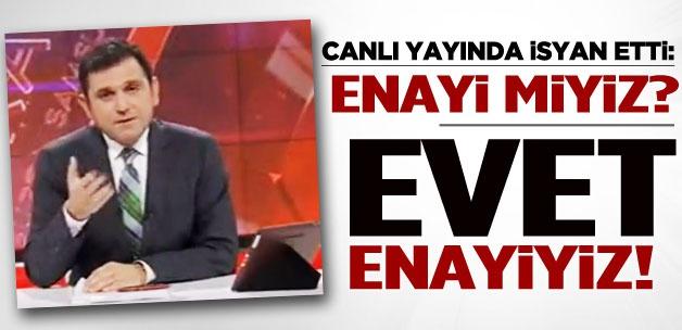 Fatih Portakal isyan etti: Enayi miyiz?