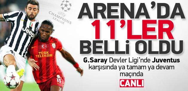 Galatasaray - Juventus / CANLI