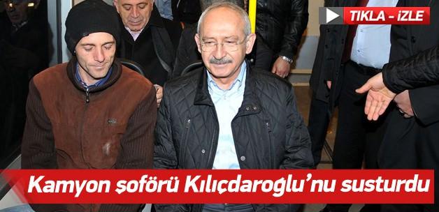 Kamyon şoföründen Kılıçdaroğlu'na siyaset dersi
