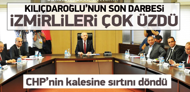Kemal Kılıçdaroğlu'ndan İzmir'e darbe!