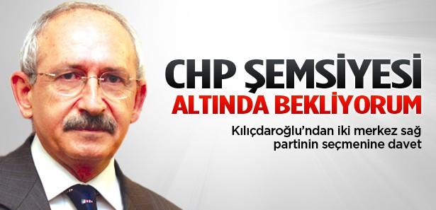 Kılıçdaroğlu'ndan iki parti seçmenine katılım daveti