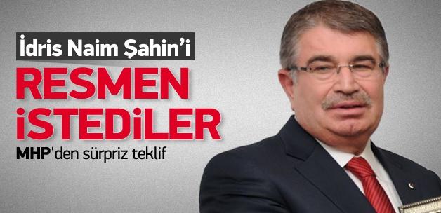 MHP, AK Parti'den İdris Naim Şahin'i istedi