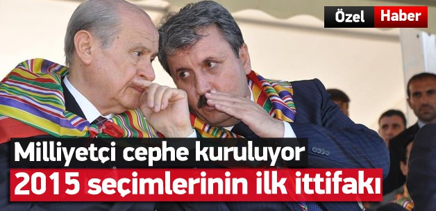 MHP - BBP 2015 seçimlerinde ittifak yapacak