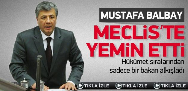 Mustafa Balbay TBMM'de yemin etti VİDEO