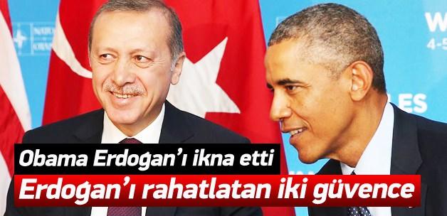 Obama, Erdoğan'ı bu sözlerle ikna etti