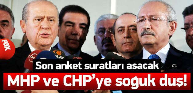 Son ankette CHP ve MHP'ye soğuk duş etkisi