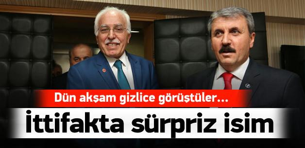 SP-BBP ittifakına İdris Naim Şahin de katıldı