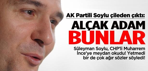Süleyman Soylu, İnce'ye meydan okudu