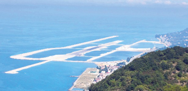 avrupanın türkiyenin ilk deniz üstü havaalanı