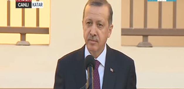 Erdoğan: Burayı eviniz olarak görebilirsiniz