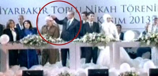 Erdoğan'dan Barzani'ye jest