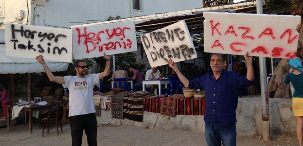 Erdoğan'ı haklı çıkaran 'Bodrum Direnişçileri'