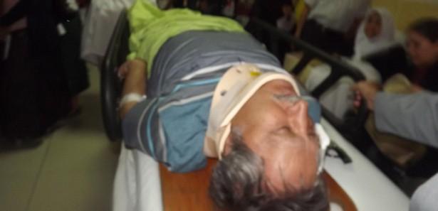 Hasan Gerçeker trafik kazası geçirdi