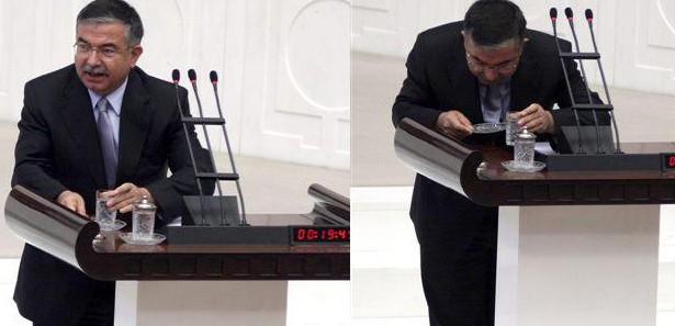 Milli Savunma Bakanı'nın oruç kazası