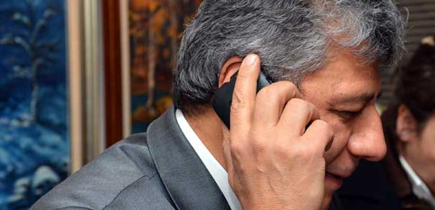 Mustafa Balbay'a sürpriz telefon