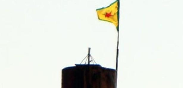 Rasulayn'daki PYD bayrağı indirildi